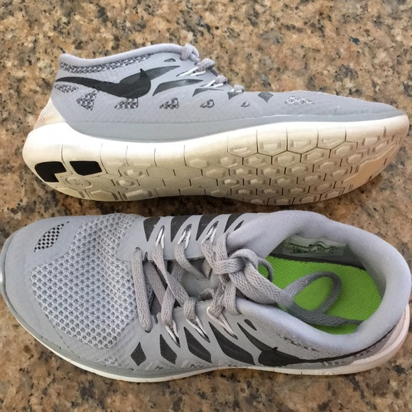 56744891e7ab Nike Free 5.0 (GS) youth sneakers size 4.5y W6. M 5aa55c8e36b9ded39ac2df56